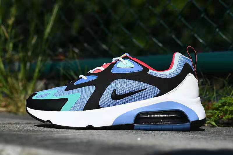 Where To Buy 2020 Cheap Wholesale Nike Air Max 200 Royal Pulse Blue Grey Red White AQ2568-401 - www.wholesaleflyknit.com
