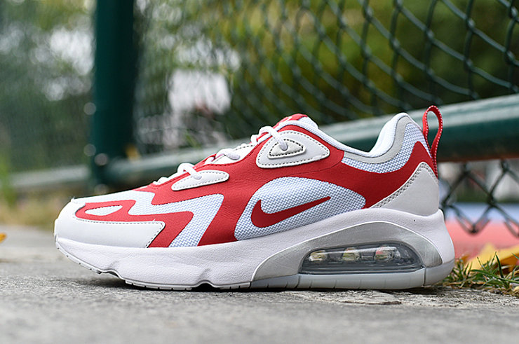 Where To Buy 2020 Cheap Wholesale Nike Air Max 200 University Red White - www.wholesaleflyknit.com