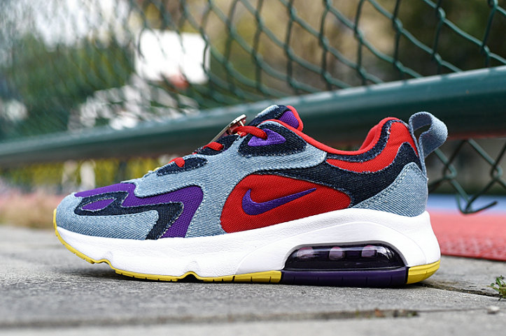 Where To Buy 2020 Cheap Wholesale Nike Air Max 200 Voltage Purple University Red CK5668-600 - www.wholesaleflyknit.com