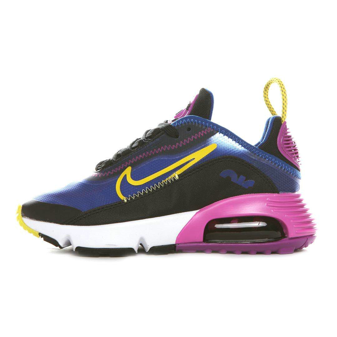 Where To Buy 2020 Cheap Wholesale Nike Air Max 2090 Colorway Blue Void Black-Active Fuchsia-Varsity Maize-White Ck2612-400 - www.wholesaleflyknit.com