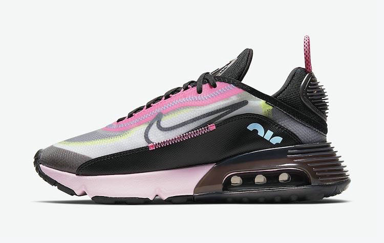 Where To Buy 2020 Cheap Wholesale Nike Air Max 2090 White Black-Pink Foam-Lotus Pink CW4286-100 - www.wholesaleflyknit.com