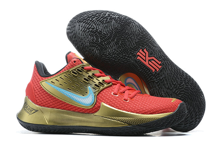 Where To Buy 2020 Cheap Wholesale Nike Kyrie 2 Low Metallic Gold Red Black Blue - www.wholesaleflyknit.com