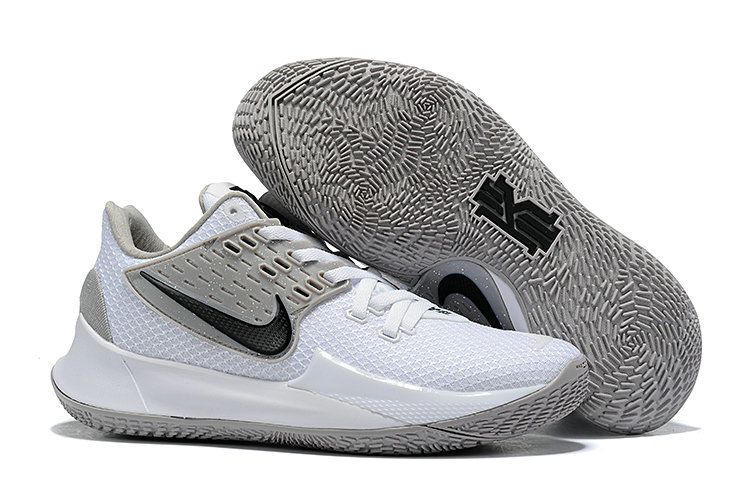 Where To Buy 2020 Cheap Wholesale Nike Kyrie 2 Low White Cool Grey Black - www.wholesaleflyknit.com