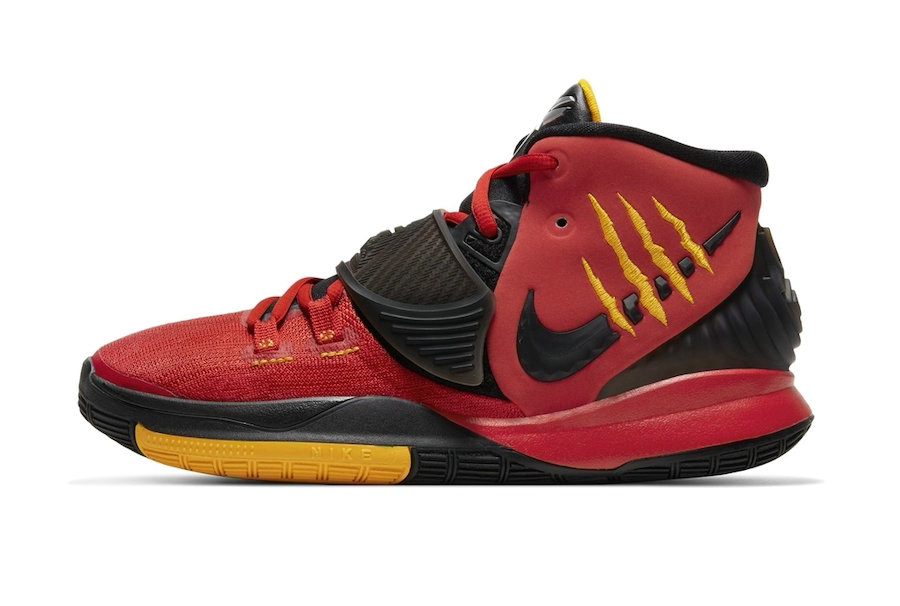 Where To Buy 2020 Cheap Wholesale Nike Kyrie 6 Bruce Lee Red CJ1290-001 - www.wholesaleflyknit.com