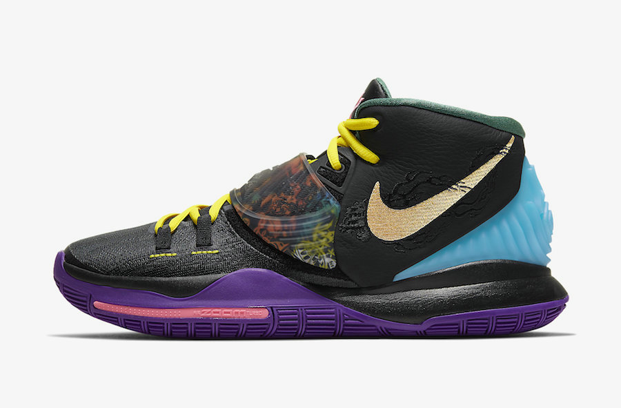 Where To Buy 2020 Cheap Wholesale Nike Kyrie 6 Chinese New Year CD5029-001 - www.wholesaleflyknit.com