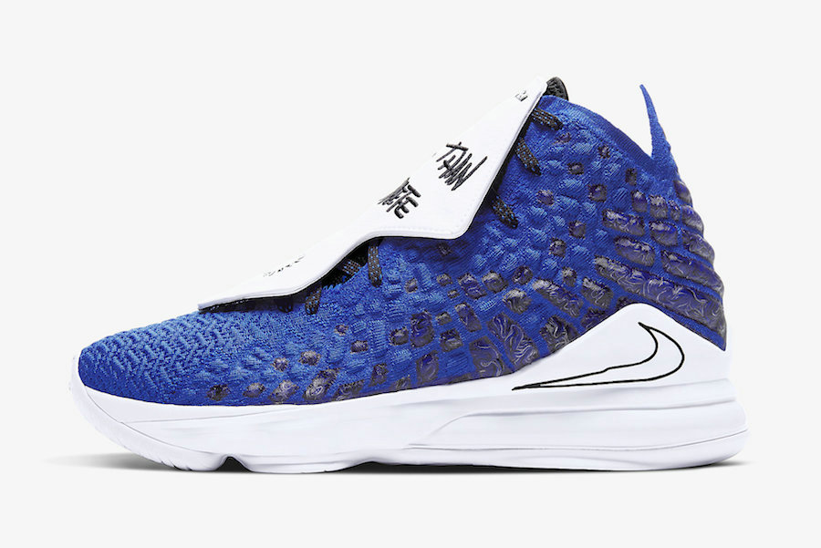 Where To Buy 2020 Cheap Wholesale Nike LeBron 17 More Than An Athlete Game Royal Black-White CT3464-400 - www.wholesaleflyknit.com