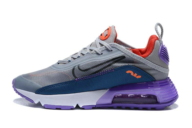 Where To Buy 2020 Mens Cheap Wholesale Nike Air Max 2090 Grey Purple White Blue - www.wholesaleflyknit.com