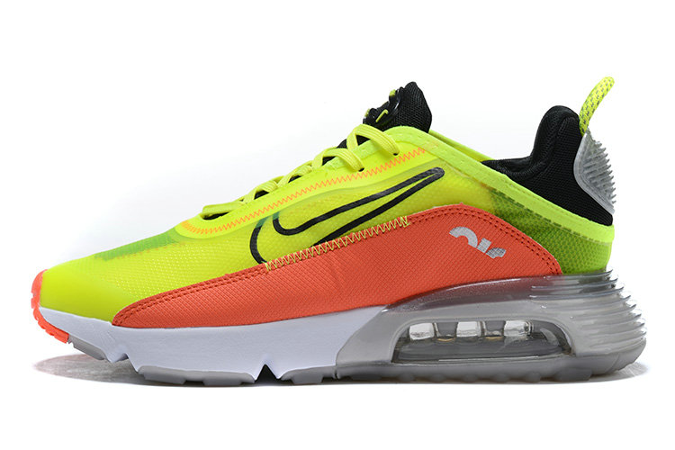 Where To Buy 2020 Mens Cheap Wholesale Nike Air Max 2090 Orange Fluorescent Green Black White - www.wholesaleflyknit.com