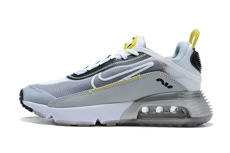 Where To Buy 2020 Mens Cheap Wholesale Nike Air Max 2090 Wolf Grey White-Particle Grey BV9977-002 - www.wholesaleflyknit.com