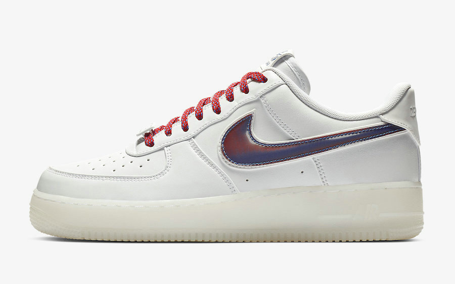 Where To Buy 2021 Cheapest Nike Air Force 1 De Lo Mio White University Red-Sport Blue BQ8448-100 - www.wholesaleflyknit.com
