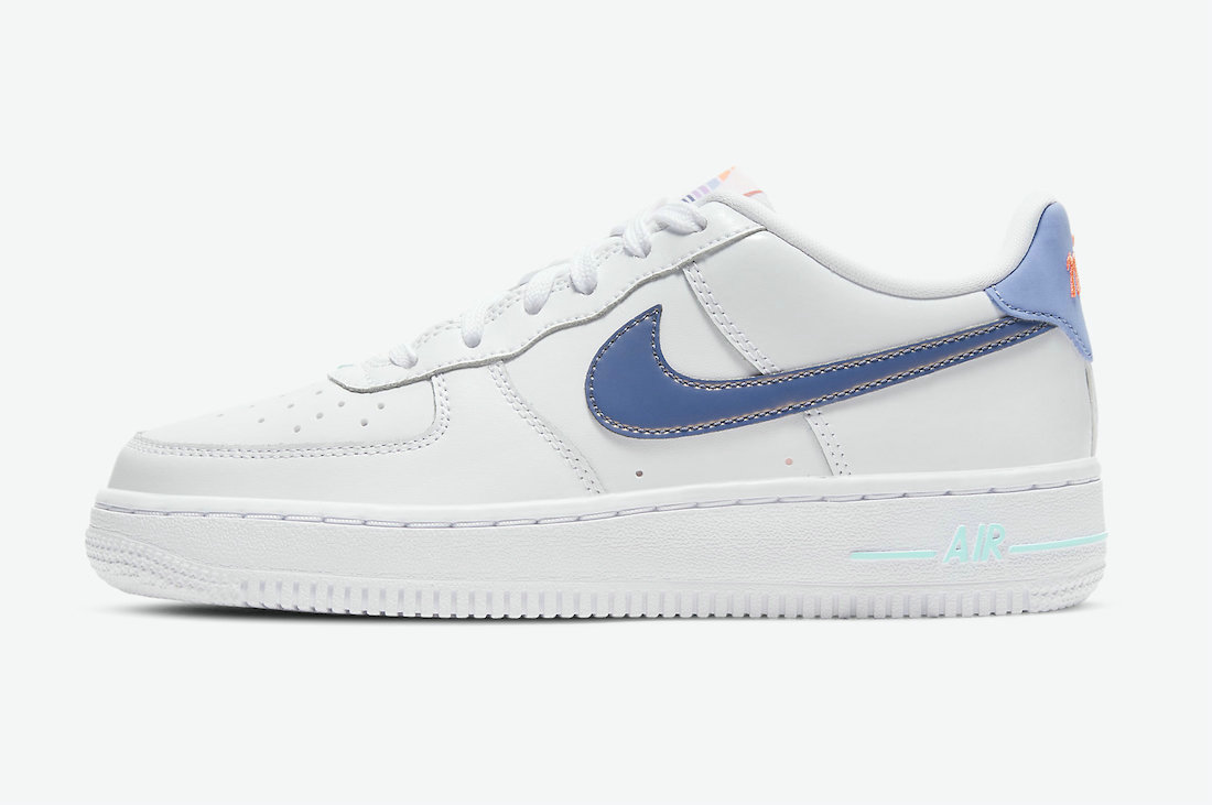 Where To Buy 2021 Cheapest Nike Air Force 1 Low White Light Thistle-Copa-Dark Purple Dust DC8188-100 - www.wholesaleflyknit.com