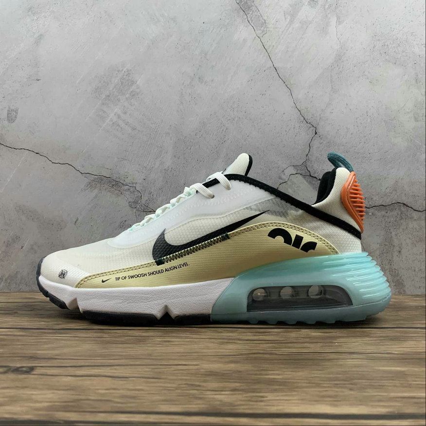 Where To Buy 2021 Cheapest Nike Air Max 2090 Basic Sail Black-Ice Blue DM0971-107 - www.wholesaleflyknit.com