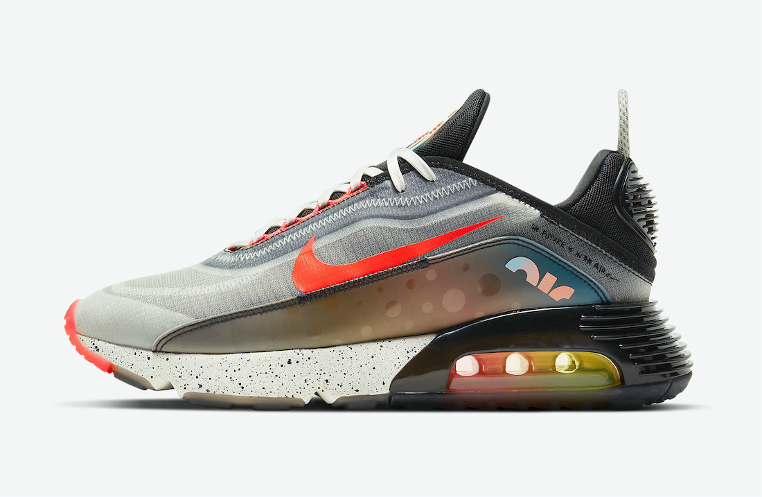 Where To Buy 2021 Cheapest Nike Air Max 2090 The Future is in the Air White Infrared Black-Multi-Color DD8497-160 - www.wholesaleflyknit.com