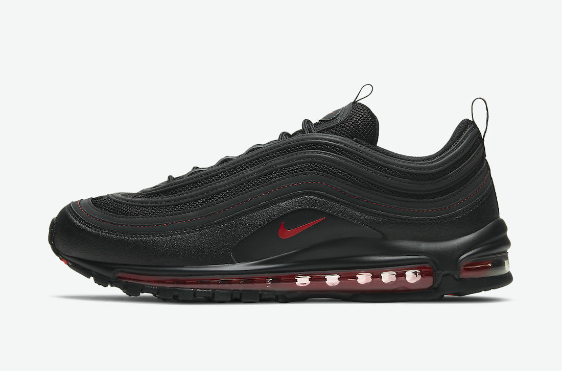 Where To Buy 2021 Cheapest Nike Air Max 97 Reflective Black Red DH4092-001 - www.wholesaleflyknit.com