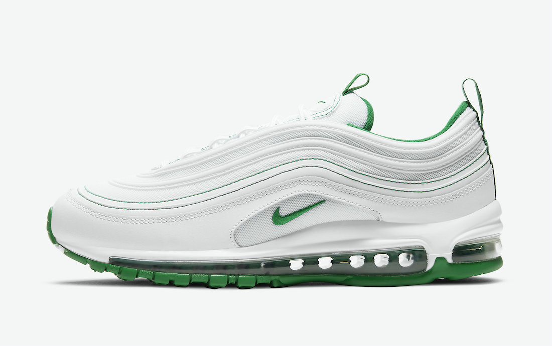 Where To Buy 2021 Cheapest Nike Air Max 97 White Pine Green DH0271-100 - www.wholesaleflyknit.com