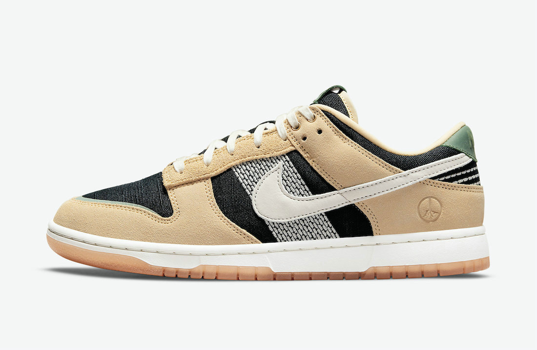 Where To Buy 2021 Cheapest Nike Dunk Low Rooted in Peace Pale Vanilla Sail-Black-Silver Pine DJ4671-294 - www.wholesaleflyknit.com