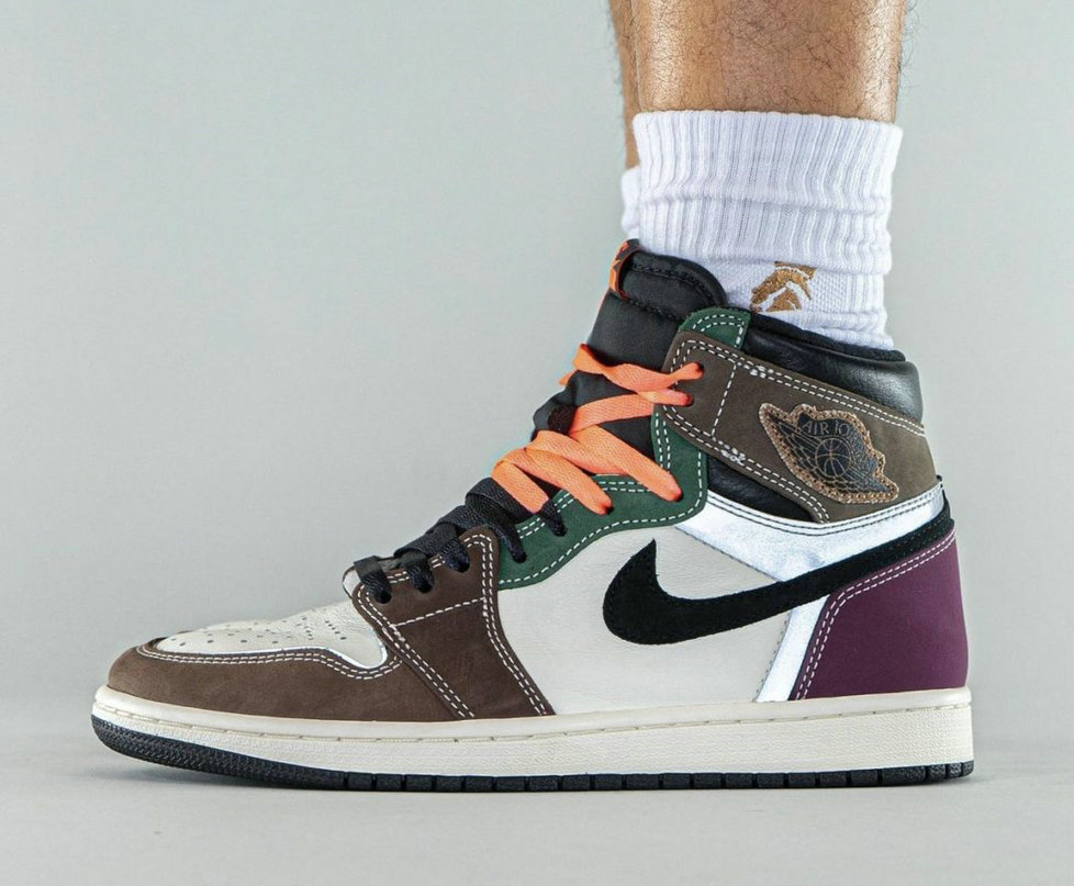 Where To Buy 2022 Cheap Wholesale Air Jordan 1 High OG Hand Crafted Black Archaeo Brown-Dark Chocolate DH3097-001 - www.wholesaleflyknit.com