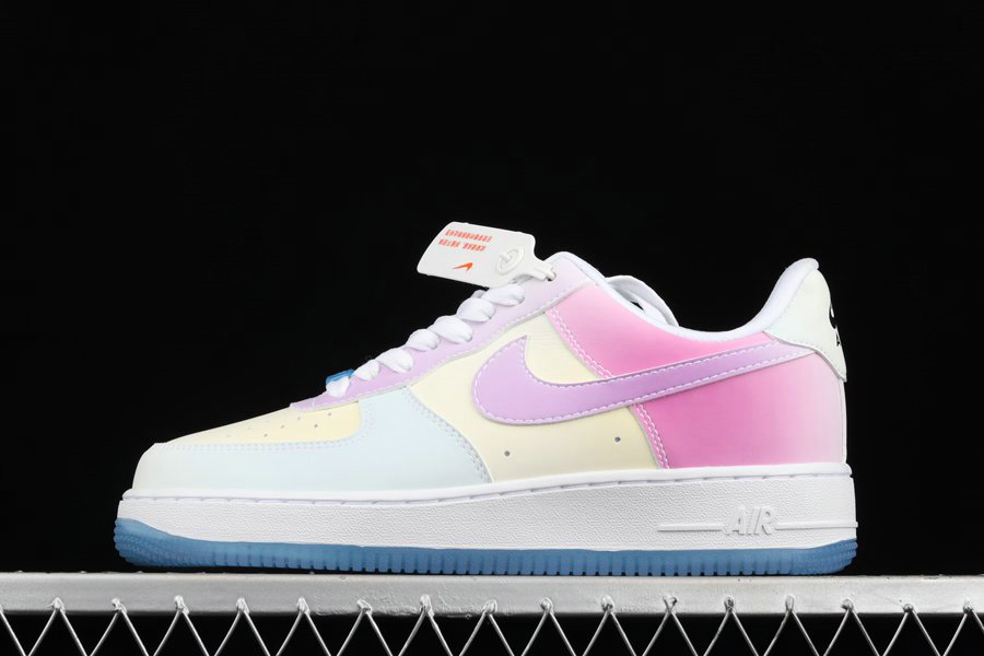 Where To Buy 2022 Cheap Wholesale Nike Air Force 1 07 LX UV Reactive Changes Colors DA8301-100 - www.wholesaleflyknit.com