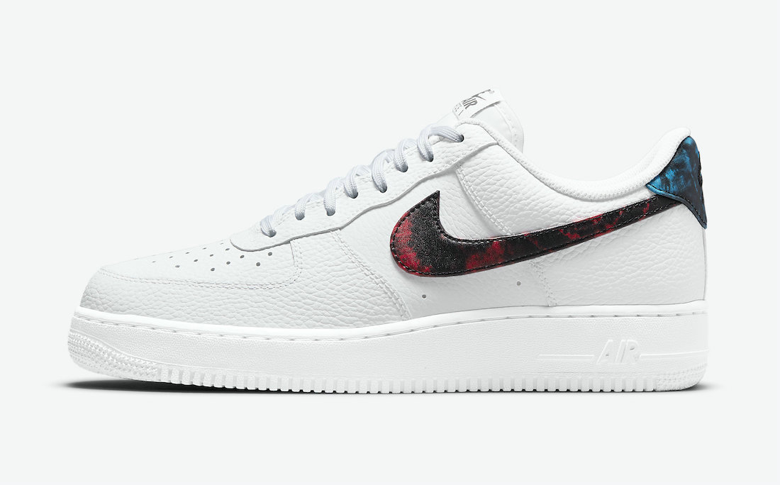 Where To Buy 2022 Cheap Wholesale Nike Air Force 1 Low  White Bright Crimson-Laser Blue-Black DJ6889-100 - www.wholesaleflyknit.com