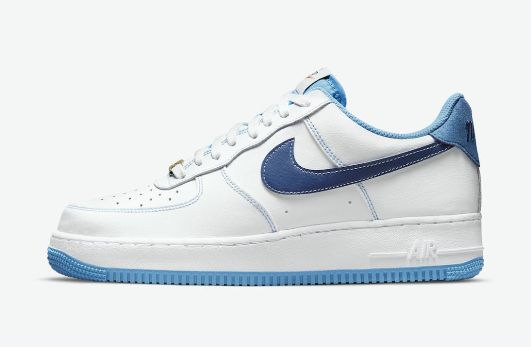 Where To Buy 2022 Cheap Wholesale Nike Air Force 1 Low First Use White University Blue-Sail-Deep Royal Blue DA8478-100 - www.wholesaleflyknit.com