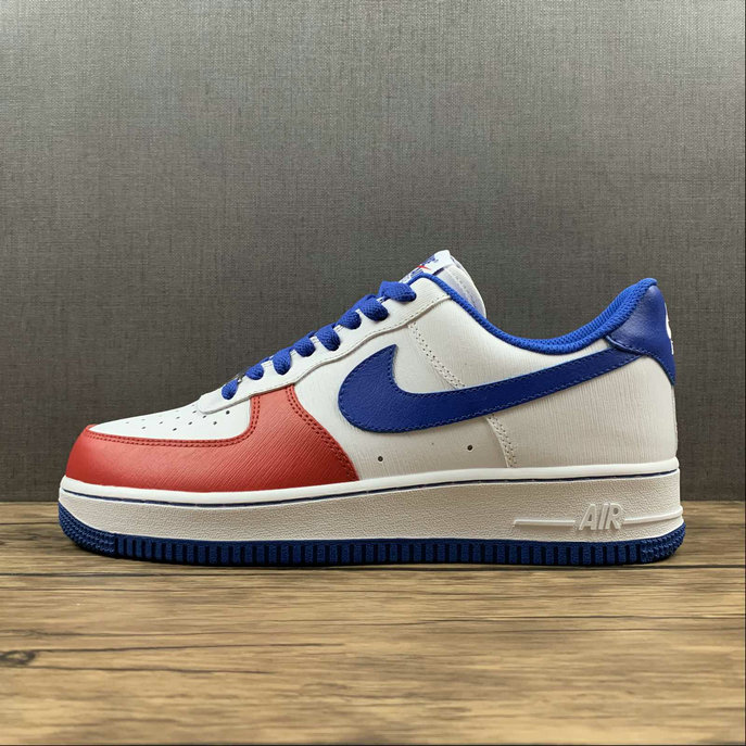 Where To Buy 2022 Cheap Wholesale Nike Air Force 1 Low Nike By Customer White Blue Red CT7875-164 - www.wholesaleflyknit.com