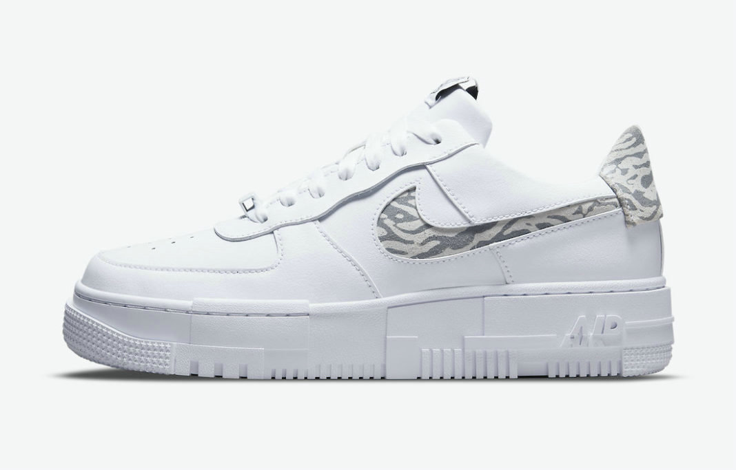Where To Buy 2022 Cheap Wholesale Nike Air Force 1 Pixel Zebra White Particle Grey-Summit White DH9632-100 - www.wholesaleflyknit.com