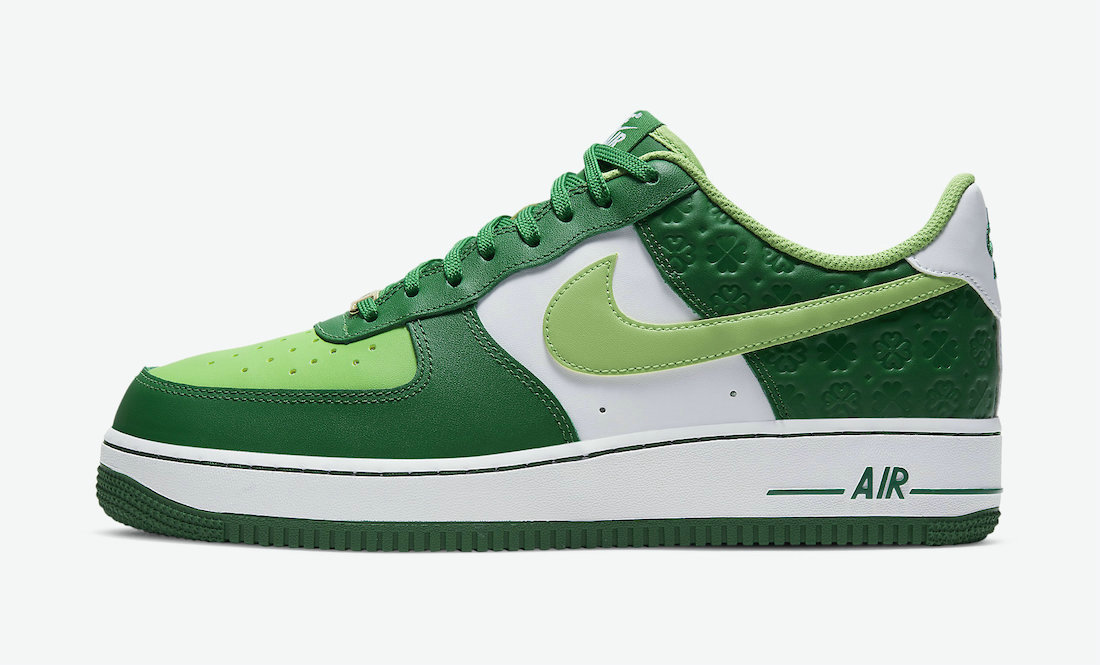 Where To Buy 2022 Cheap Wholesale Nike Air Force 1 St. Patricks Day Pine Green Mean Green-White DD8458-300 - www.wholesaleflyknit.com