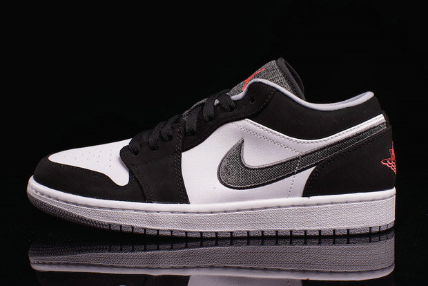 Where To Buy 2022 Cheap Wholesale Nike Air Jordan 1 Low Canvas Swoosh White Black-Wolf Grey-Infrared 23 553558-029 - www.wholesaleflyknit.com
