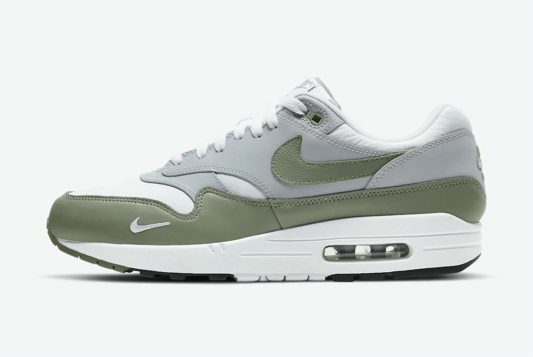 Where To Buy 2022 Cheap Wholesale Nike Air Max 1 Spiral Sage White Wolf Grey-Black DB5074-100 - www.wholesaleflyknit.com