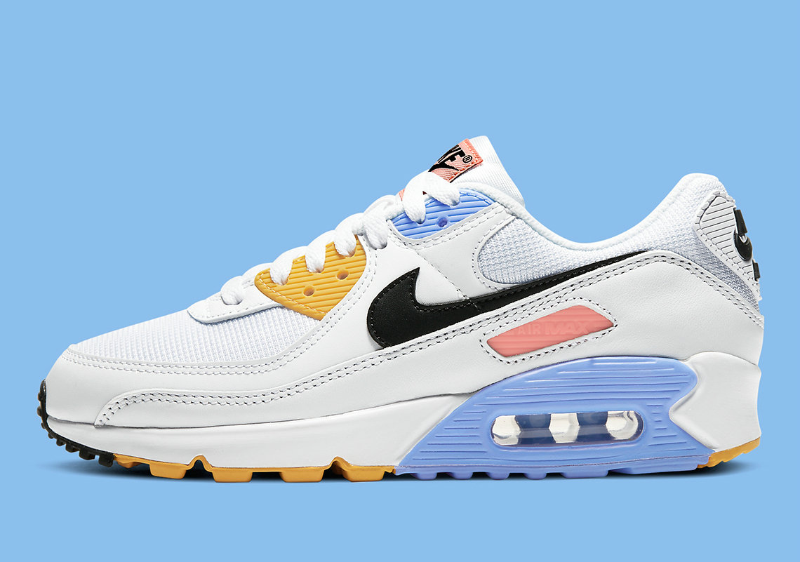 Where To Buy 2022 Cheap Wholesale Nike Air Max 90 Pure Platinum Solar Flare CZ3950-100 - www.wholesaleflyknit.com