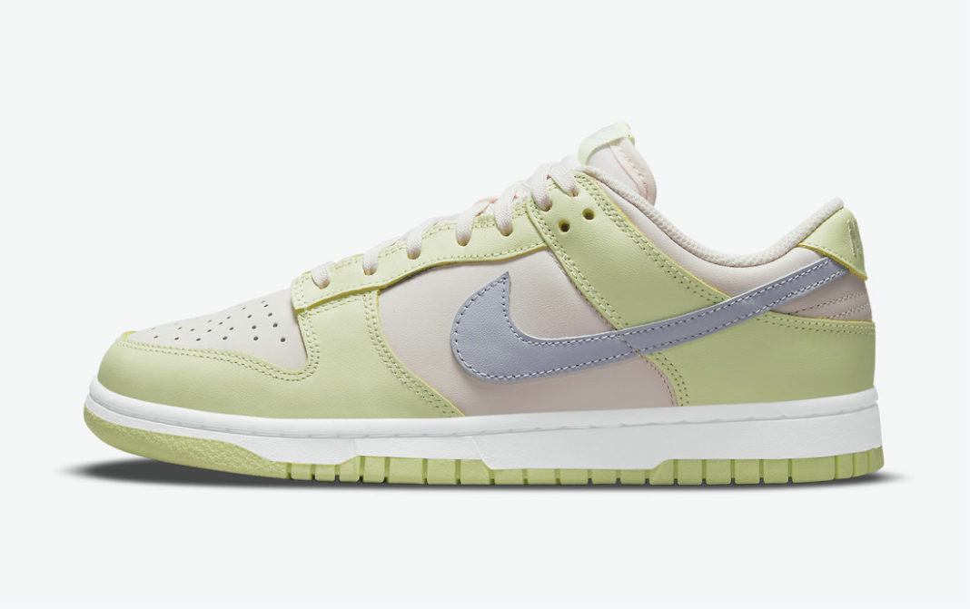 Where To Buy 2022 Cheap Wholesale Nike Dunk Low Light Soft Pink Ghost-Lime Ice-White DD1503-600 - www.wholesaleflyknit.com