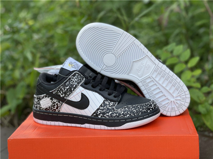 Where To Buy 2022 Cheap Wholesale Nike Dunk SB Low Premium Notebook Pack Nikebook Black White 327624-001 - www.wholesaleflyknit.com