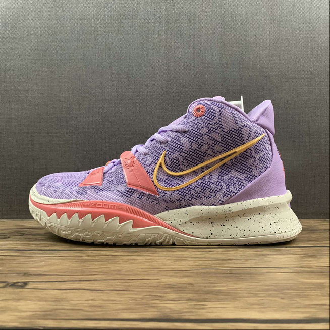 Where To Buy 2022 Cheap Wholesale Nike Kyrie 7 EP Pink Purple CQ9326-501 - www.wholesaleflyknit.com