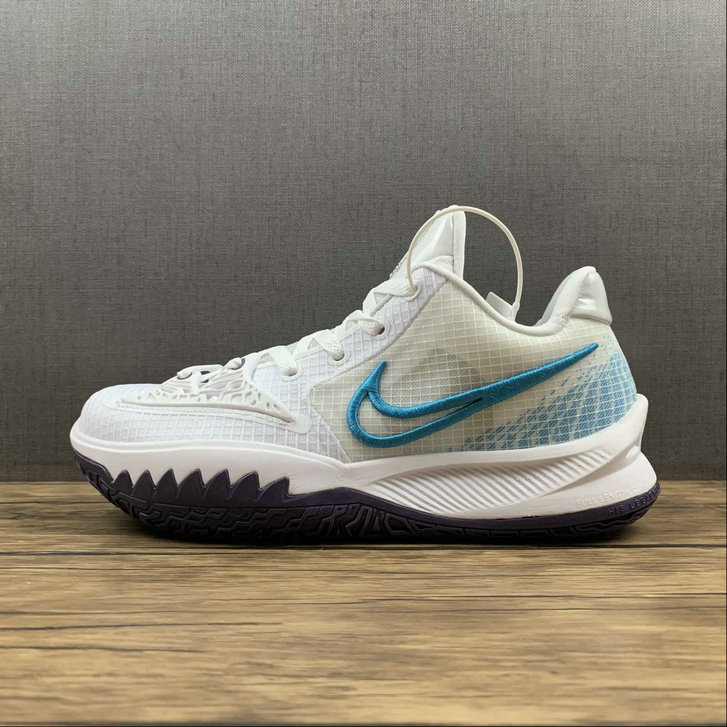Where To Buy 2022 Cheap Wholesale Nike Kyrie Low 4 EP White Laser Blue CZ0105-100 - www.wholesaleflyknit.com