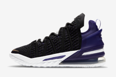 Where To Buy 2022 Cheap Wholesale Nike LeBron 18 EP Lakers CQ9284-004 - www.wholesaleflyknit.com