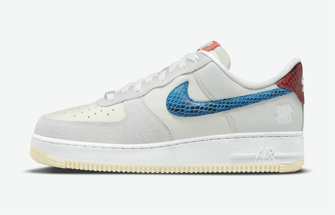 Where To Buy 2022 Cheap Wholesale Undefeated x Nike Air Force 1 5 On It Grey Fog Imperial Blue DM8461-001 - www.wholesaleflyknit.com