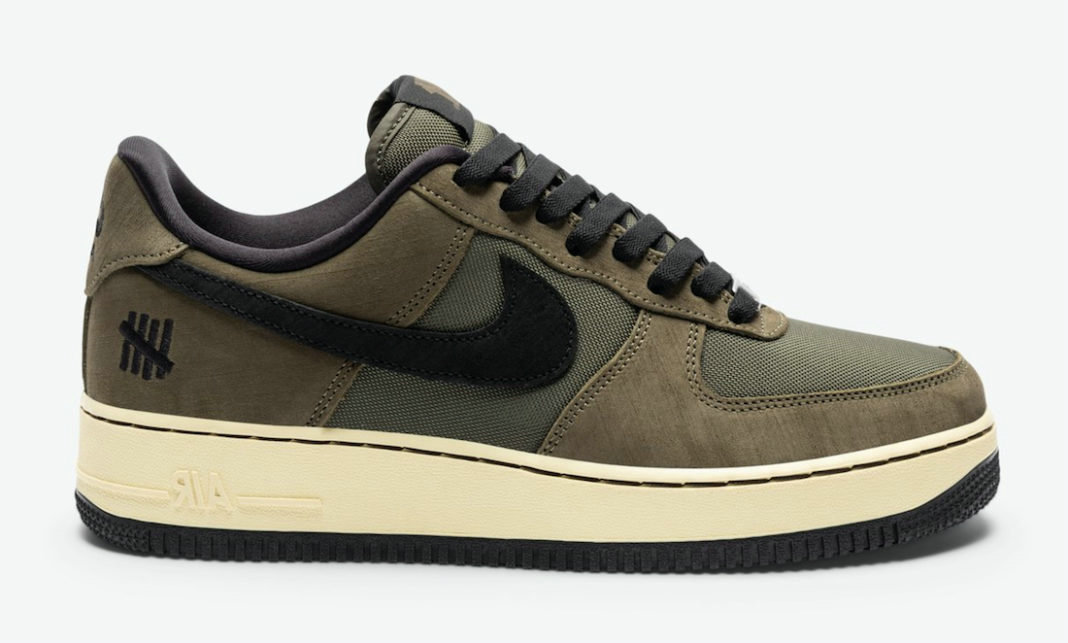 Where To Buy 2022 Cheap Wholesale Undefeated x Nike Air Force 1 Low Dunk vs AF1 Cargo Khaki Black DH3064-300 - www.wholesaleflyknit.com