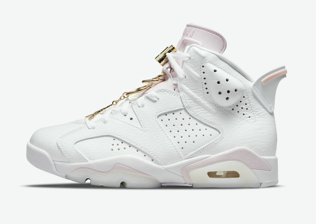 Where To Buy 2022 Cheap Wholesale Womens Nike Air Jordan 6 Gold Hoops White Sail-Metallic Gold-Barely Rose DH9696-100 - www.wholesaleflyknit.com