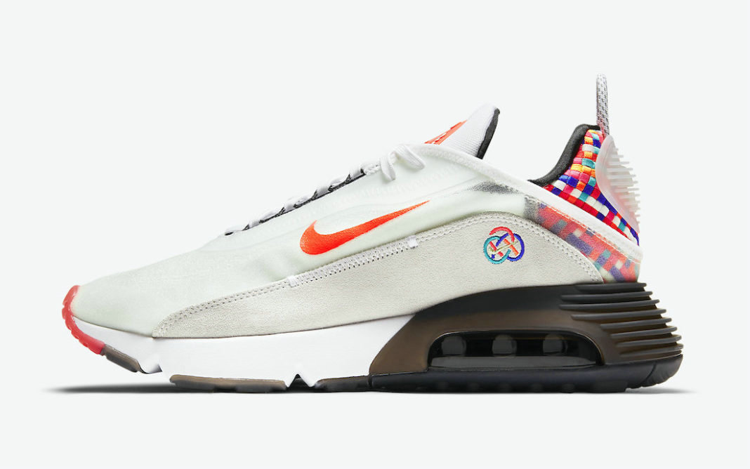 Where To Buy 2022 Cheap Wholesale Womens Nike Air Max 2090 Spring Festival White Racer Blue-Deep Red DD8487-161 - www.wholesaleflyknit.com