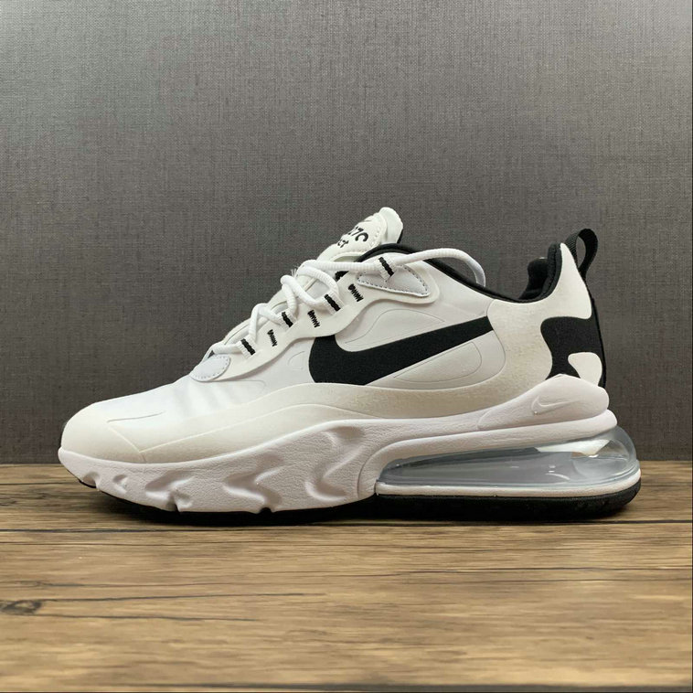 Where To Buy 2022 Cheap Wholesale Womens Nike Air Max 270 React White Black CT1264-102 - www.wholesaleflyknit.com