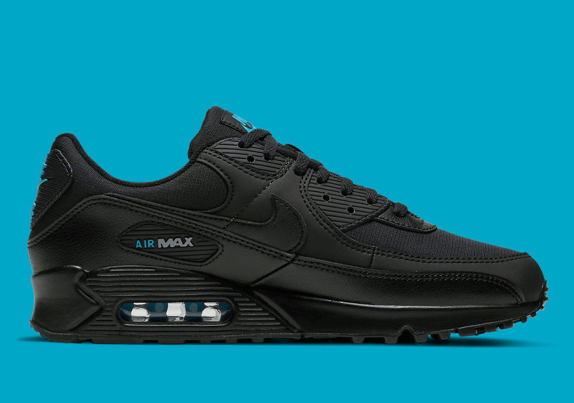 Where To Buy 2022 Cheap Wholesale Womens Nike Air Max 90 Black Laser Blue DC4116-002 - www.wholesaleflyknit.com
