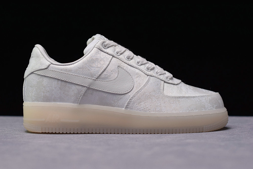 Where To Buy Cheap Wholesale Clot x Nike Air Force 1 Premium AF1 White Blanc AO9286-100 - www.wholesaleflyknit.com