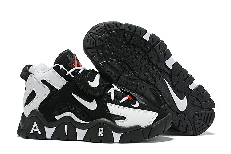 Where To Buy Cheap Wholesale Nike Air Barrage Mid Black White Gym Red - www.wholesaleflyknit.com