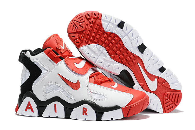 Where To Buy Cheap Wholesale Nike Air Barrage Mid Quickstrike Black White Red - www.wholesaleflyknit.com