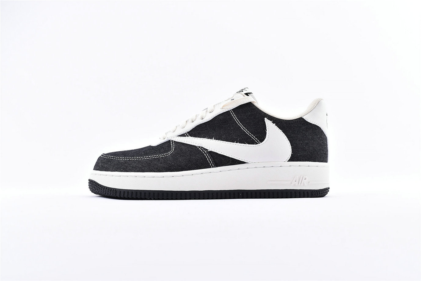 Where To Buy Wholesale Cheap Nike Air Force 1 07 Black Milky White CD8619-001 - www.wholesaleflyknit.com