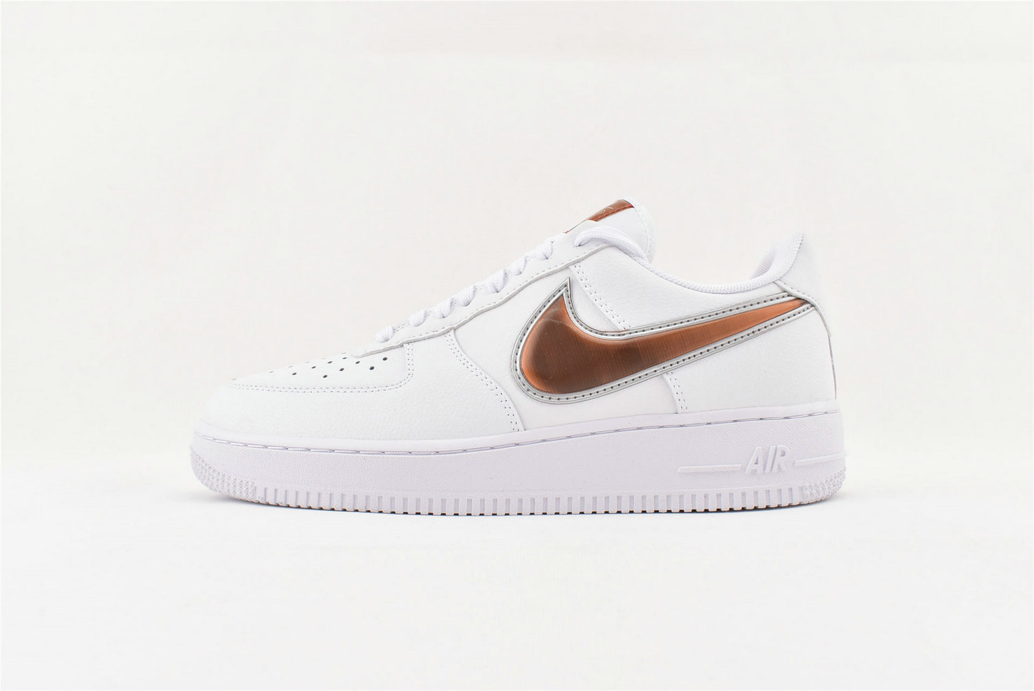 Where To Buy Wholesale Cheap Nike Air Force 1 07 LV8 3 White Court Purple Infrared 23 CI6387-171 - www.wholesaleflyknit.com