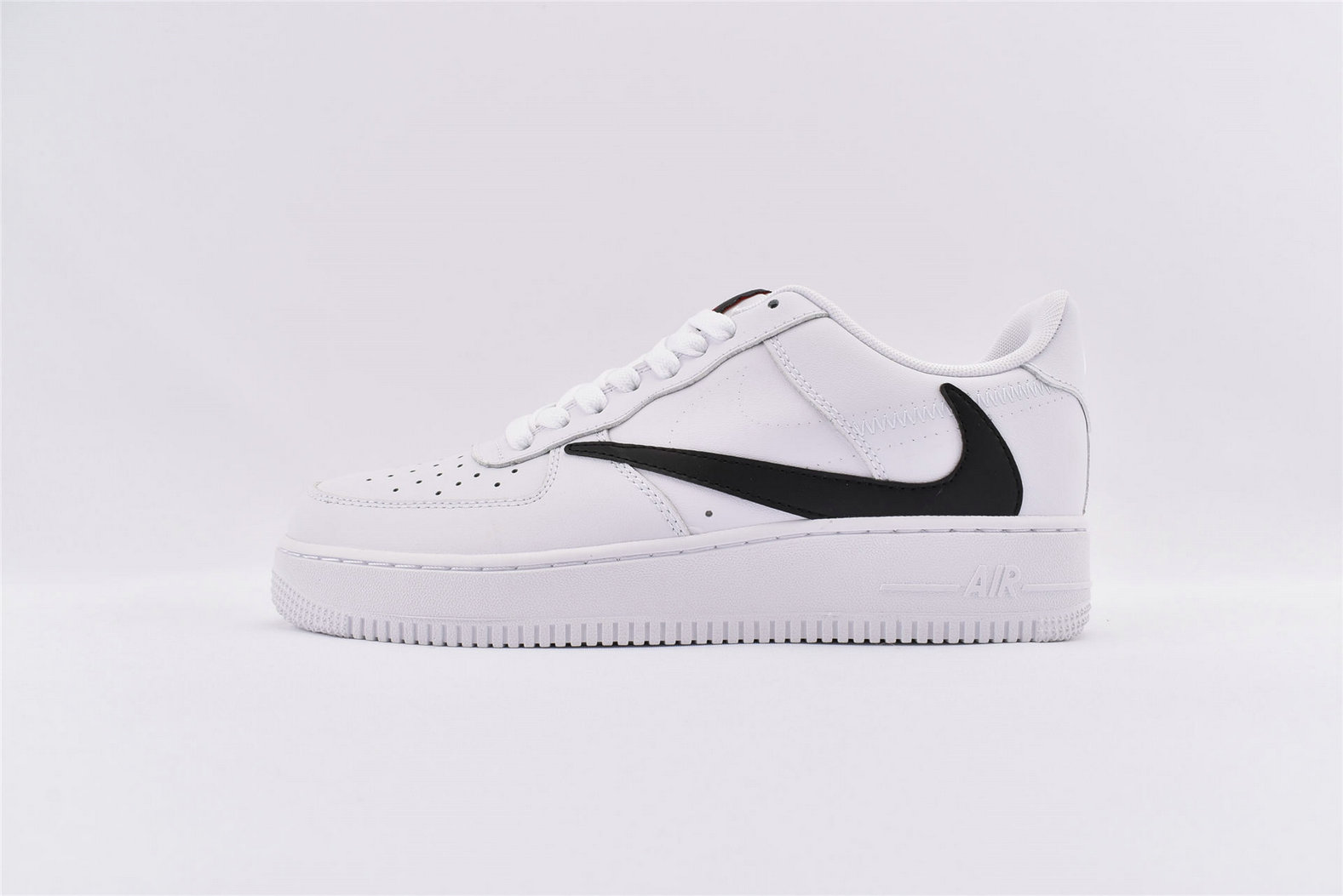 Where To Buy Wholesale Cheap Nike Air Force 1 07 V8 White Red AQ8896-100 - www.wholesaleflyknit.com
