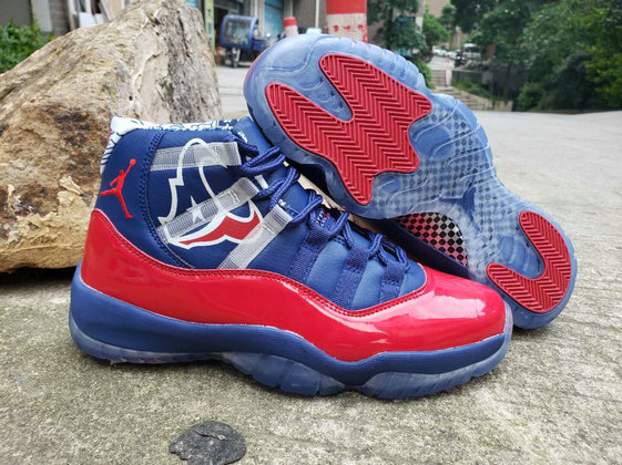 Where To Buy Cheap Wholesale Nike Air Jordan 11 Champion Bull University Red Royal Blue - www.wholesaleflyknit.com