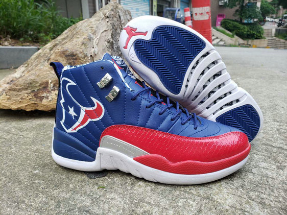 Where To Buy Cheap Wholesale Nike Air Jordan 12 Champion Bull University Red Royal Blue - www.wholesaleflyknit.com