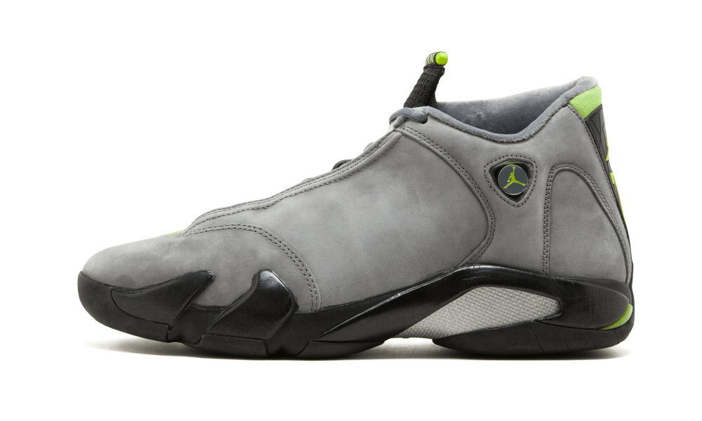 Where To Buy Cheap Wholesale Nike Air Jordan 14 Light Graphite Chartreuse-Black 311832-031 - www.wholesaleflyknit.com